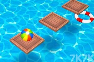 《沙滩球大挑战选关版》游戏画面1