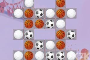 《体育用品对对碰》游戏画面2