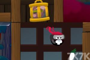 《忍者兔救援》游戲畫面3