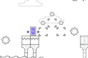 《紫方块的世界》游戏画面1
