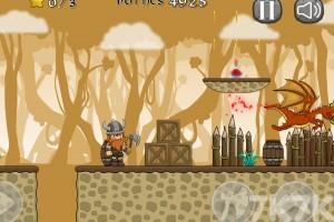 《维京人大战恐龙》游戏画面3