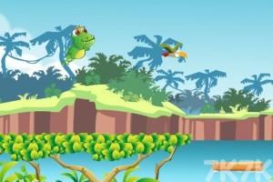 《蹦蹦哒青蛙》游戏画面1