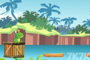 《蹦蹦哒青蛙》游戏画面2