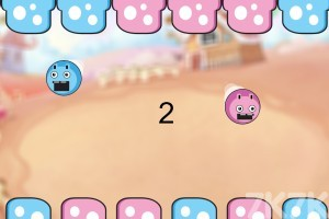 《双色小弹球》游戏画面2