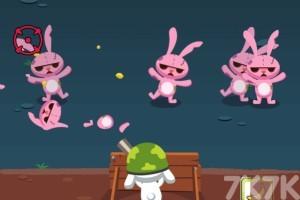 《兔子防卫战》游戏画面1