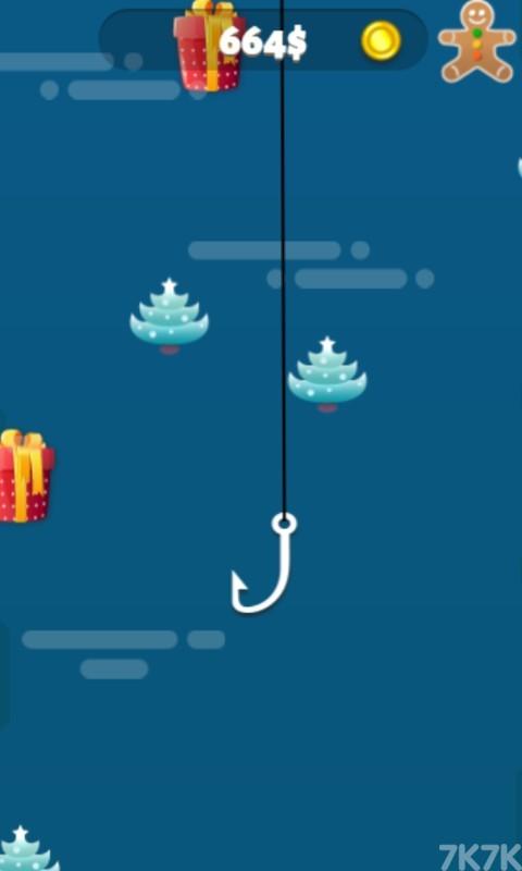 《圣诞钓鱼大师》游戏画面2