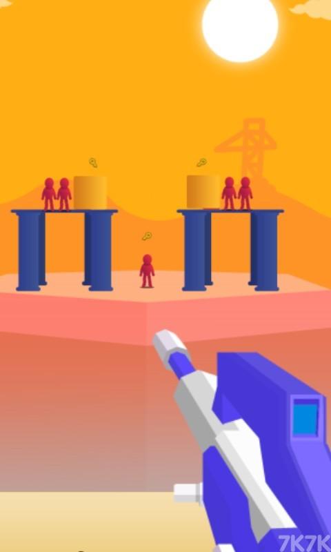 《狙击小红人无敌版》游戏画面2