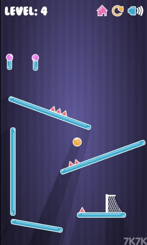 《跳跳球进网》游戏画面4