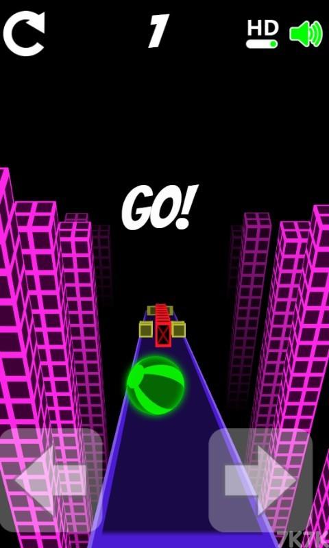 《滚动的小球》游戏画面1