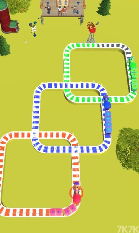 《火车交通指挥》游戏画面4