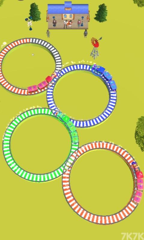 《火车交通指挥》游戏画面3