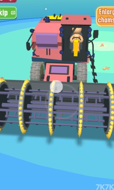 《锯齿机车》游戏画面2