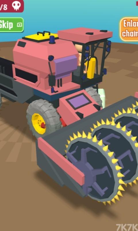 《锯齿机车》游戏画面4