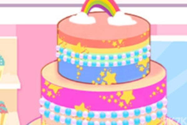 《我的彩虹蛋糕》游戏画面3
