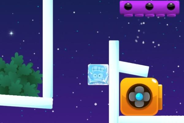 《紫色冰块回家3》游戏画面4
