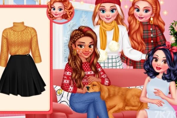 《可爱公主圣诞夜》游戏画面3