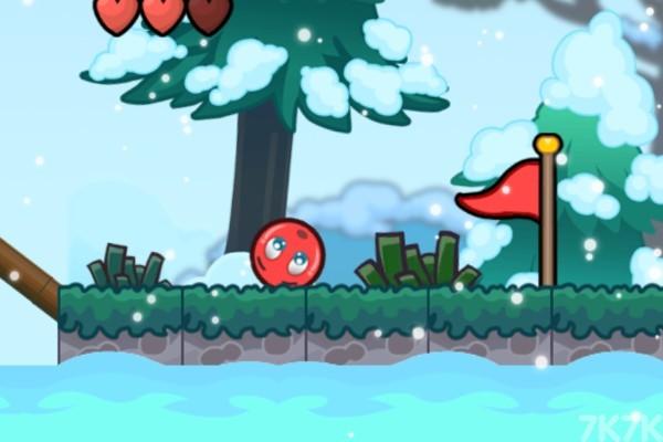 《小红球的大冒险3》游戏画面3