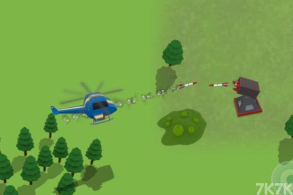 《直升机空袭》游戏画面3