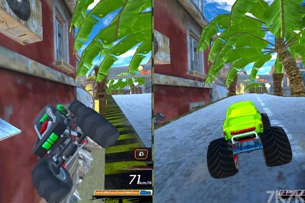 《大脚车极限赛车》游戏画面3