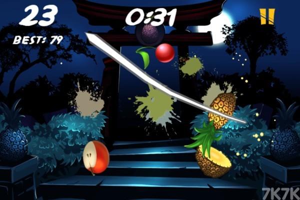 《水果之刃》游戏画面2