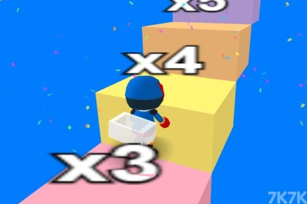 《橡皮人爬楼梯》游戏画面4