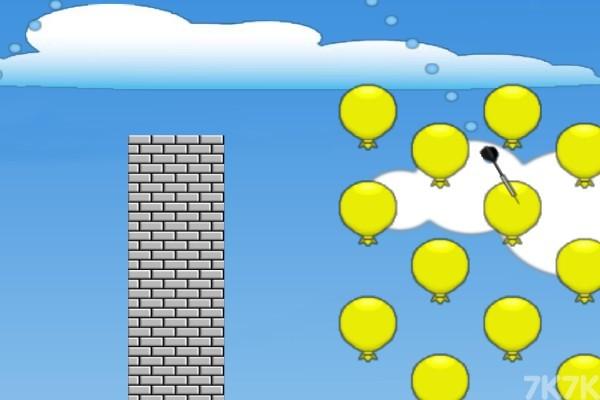 《忍者镖气球》游戏画面2