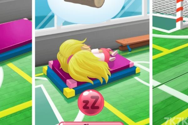 《体操馆偷懒》游戏画面2