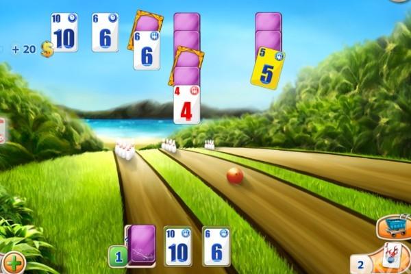 《保龄球纸牌》游戏画面4