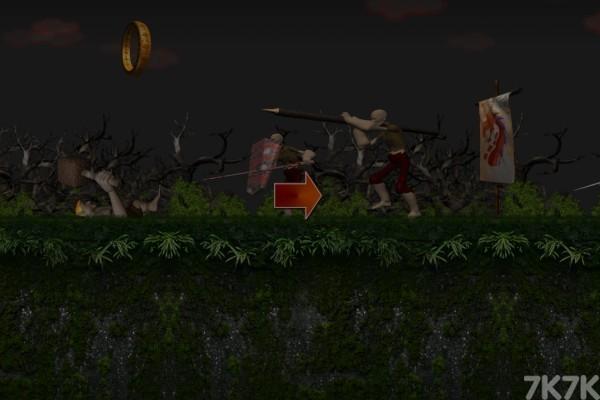 《勇夺龙之冠》游戏画面2