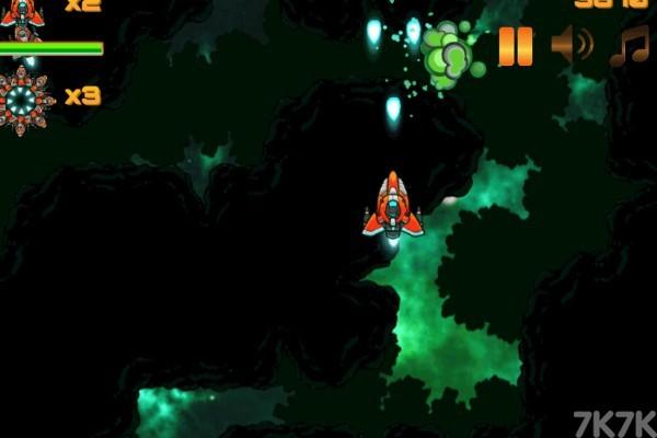 《星空红战机》游戏画面2