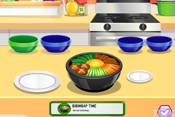 《制作韩式料理》游戏画面3