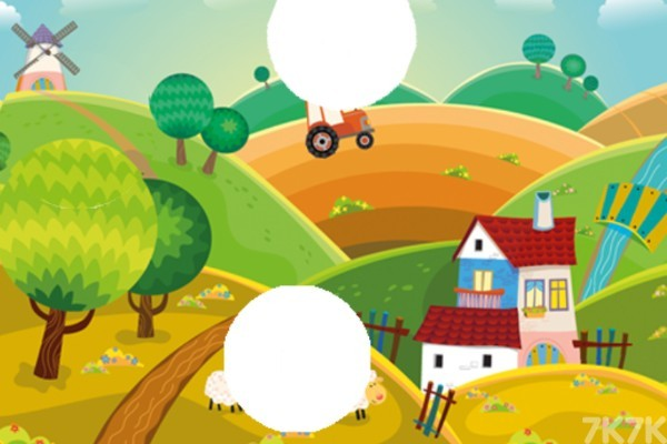 《简单农场拼图》游戏画面4