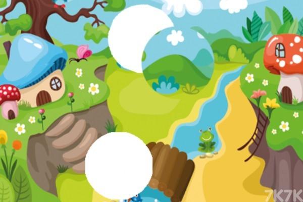 《简单农场拼图》游戏画面2