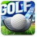 金色小人高尔夫